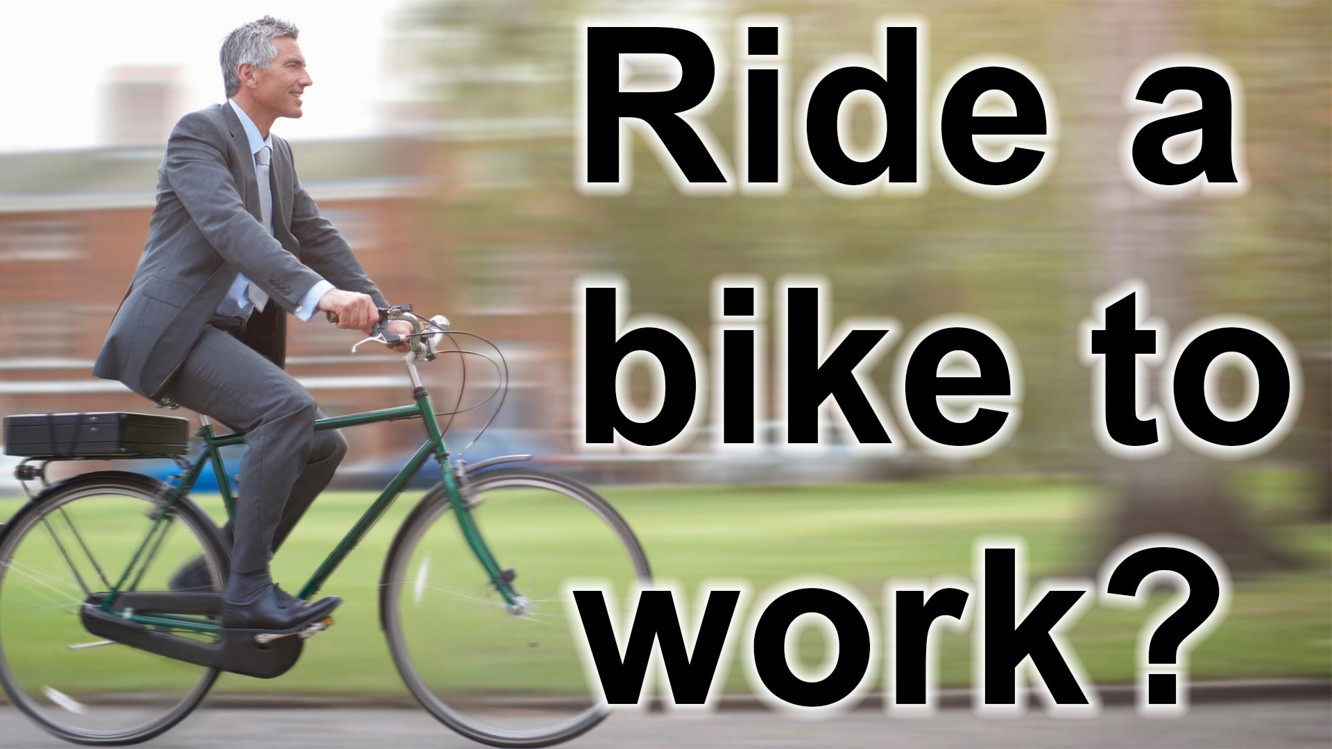 Why Riding A Bike To Work Is Awesome