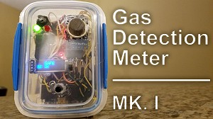 first iteration gas detection meter