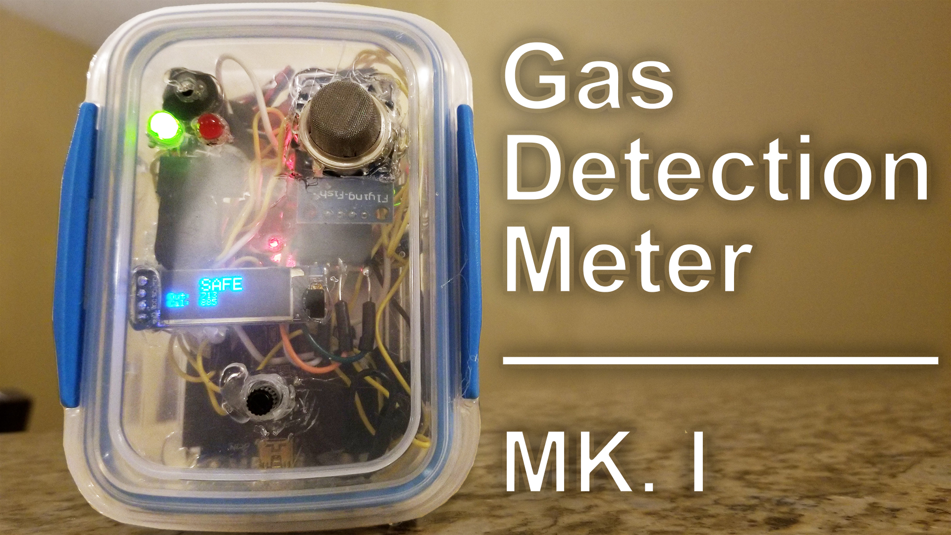 Arduino Gas Detection Meter Project - Mark I