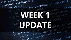 Road to becoming a Javascript Ninja Week One Update