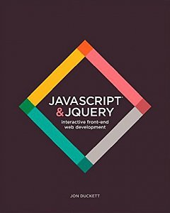 JavaScript and JQuery book cover