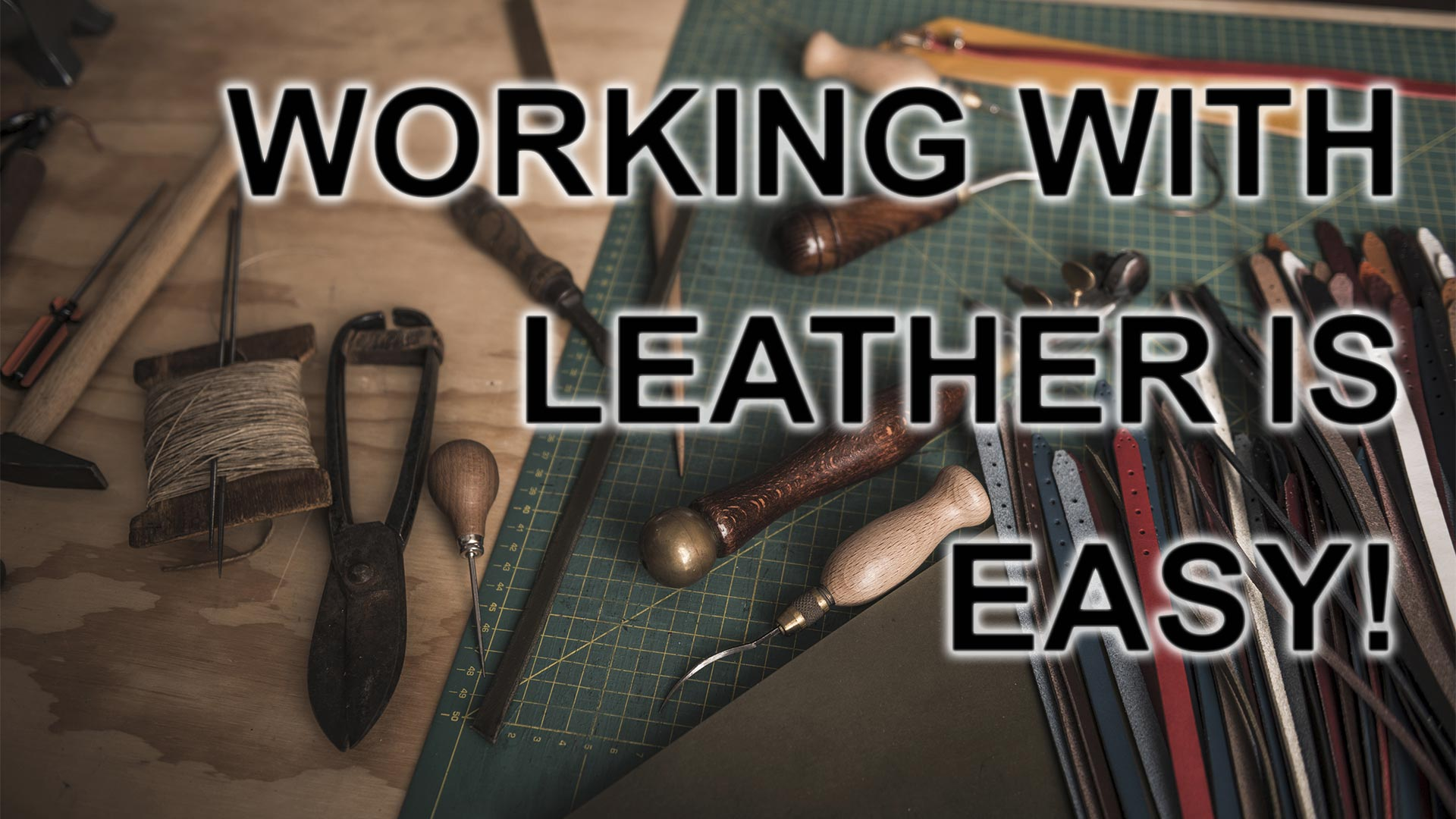 How To Start Making Leather Projects