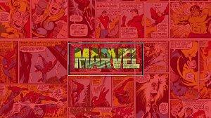 Pure CSS Marvel logo animation