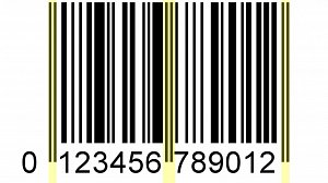 sample barcode pattern 1