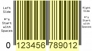sample barcode pattern 2